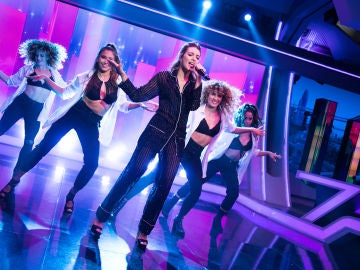 La sensual interpretación en directo de Ana Guerra con su nuevo single 'Bajito' en 'El Hormiguero 3.0'