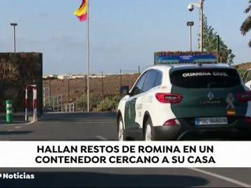 Hallan los restos orgánicos de la joven asesinada en Lanzarote en un contenedor