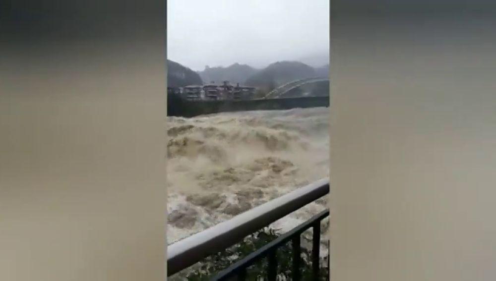 Las intensas lluvias se han cobrado la vida de cuatro personas en Asturias