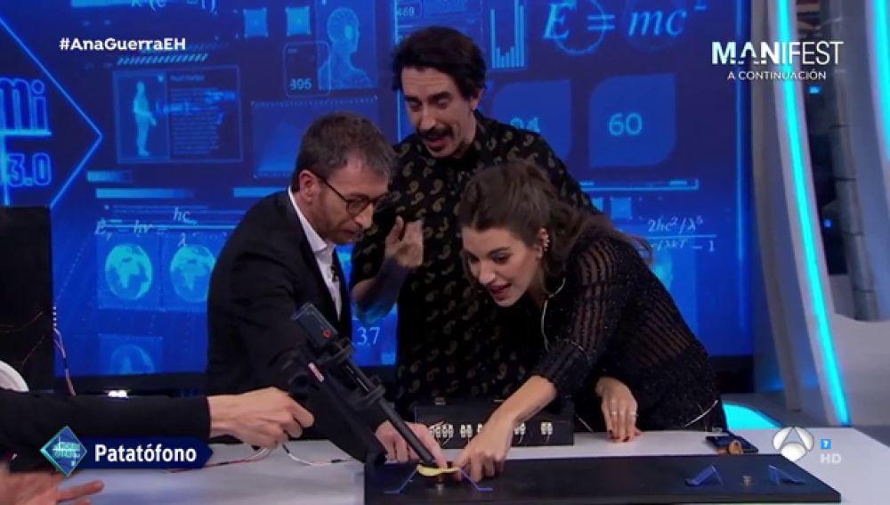 La revolución de lal música para Ana Guerra: la patata altavoz