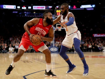 James Harden, ante los Knicks