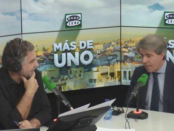 Vídeo de la entrevista completa a Ángel Garrido en Más de uno