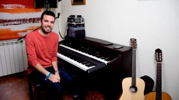 """Sergio Jiménez da la bienvenida """"al lugar donde nacen mis canciones"""""""