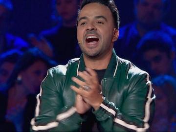 Luis Fonsi en las 'Audiciones a ciegas' de 'La Voz'