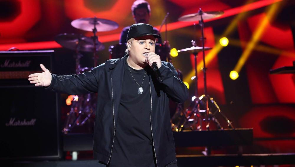 Brays Efe impresiona con 'Lose yourself' de Eminem en 'Tu cara me suena'