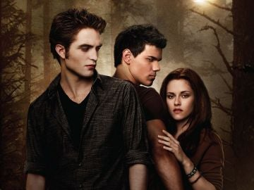Edward, Jacob y Bella en 'Luna Nueva'