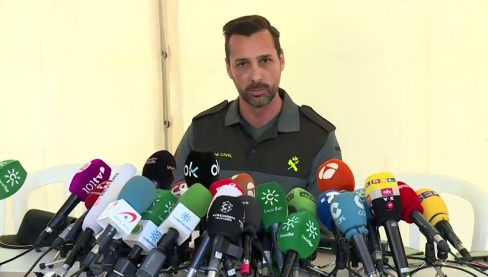 Portavoz de la Guardia Civil en Totalán