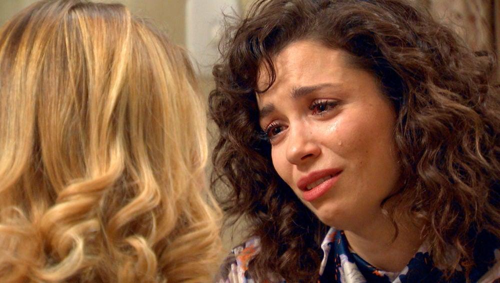 """Amelia, destrozada a Luisita: """"La vida que tus padres sueñan para ti no te la puedo dar"""""""