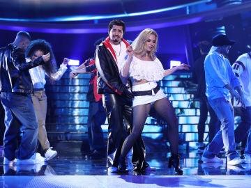 Mimi rapea al estilo de Junior con 'Down' en 'Tu cara me suena'
