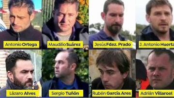 Los ocho mineros de élite de Totalán