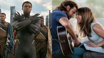 Black Panther y Ha nacido una estrella
