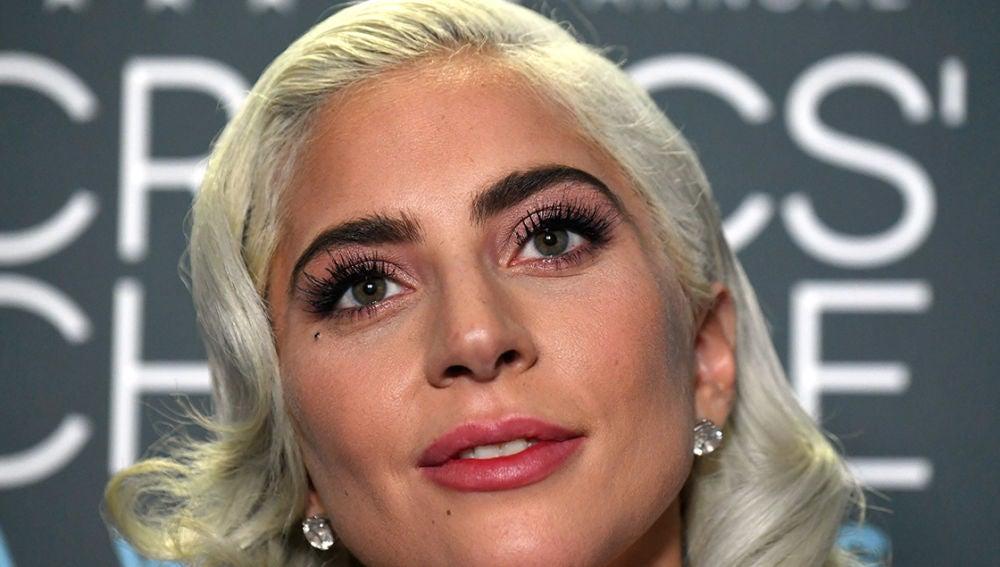 Lady Gaga en una de sus últimas apariciones públicas