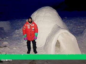 La idea de la expedición de Álex Txikon para combatir el frío del K2: ¡construir iglús!