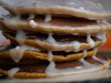 Unas tortitas con Nutella deliciosas.