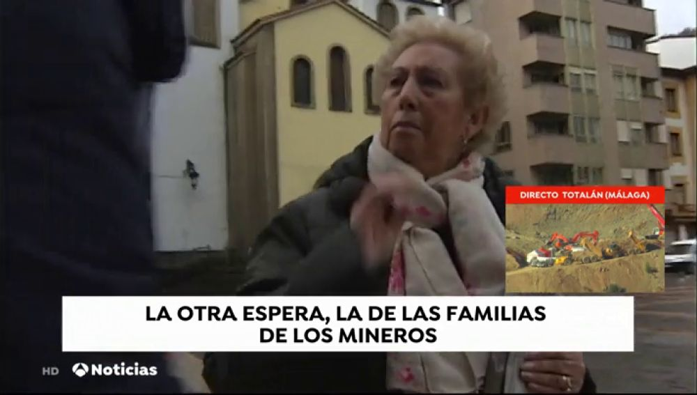 Así es la espera de los familiares de los ochos mineros que trabajan por encontrar a Julen