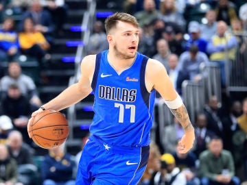 Luka Doncic, jugador de los Dallas Mavericks
