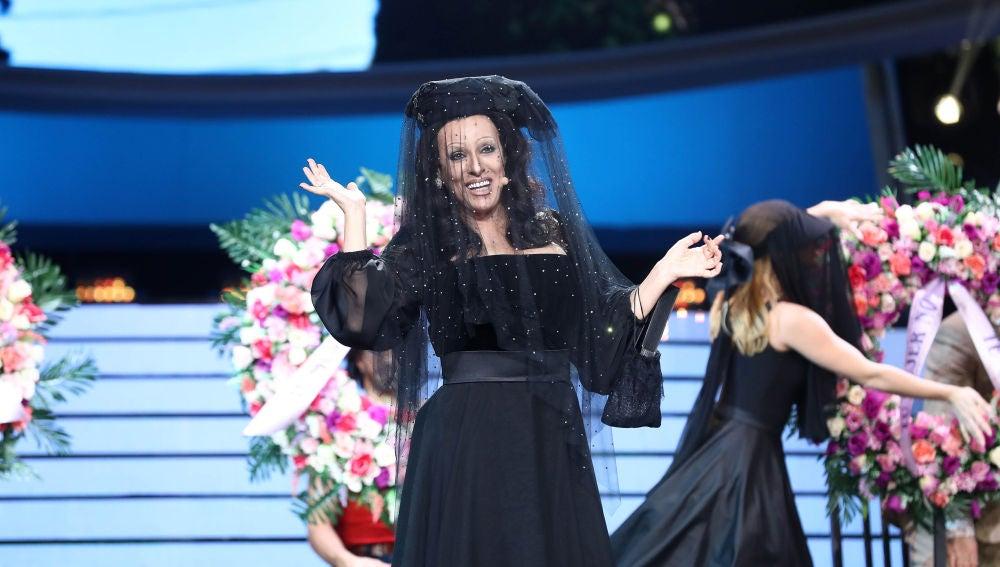 Anabel Alonso se vuelve 'Lady Veneno' de  Massiel en 'Tu cara me suena'