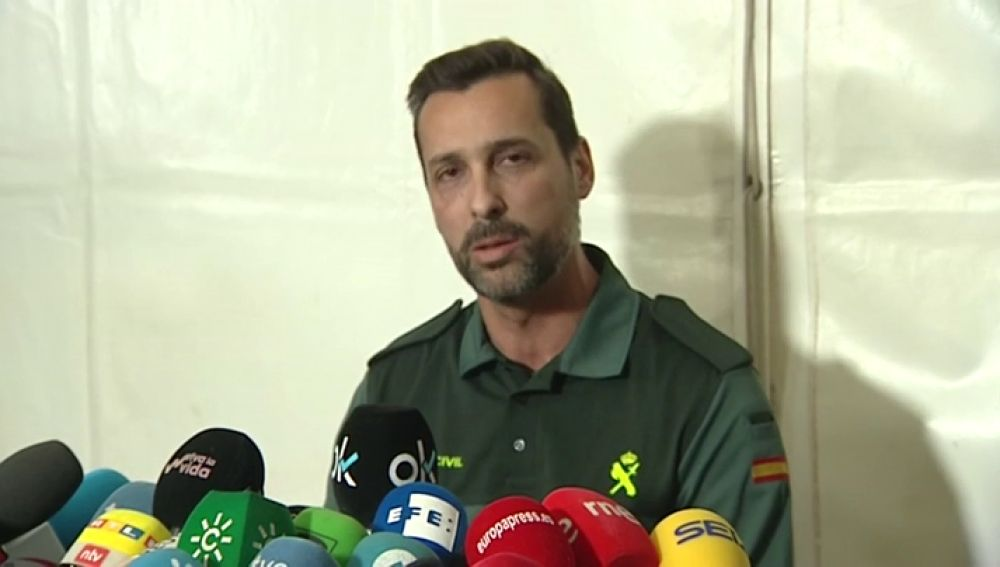RUEDA DE PRENSA GUARDIA CIVIL TARDE