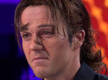 Un emocionado Jordi Coll se sincera tras su emotiva imitación de Antonio Vega