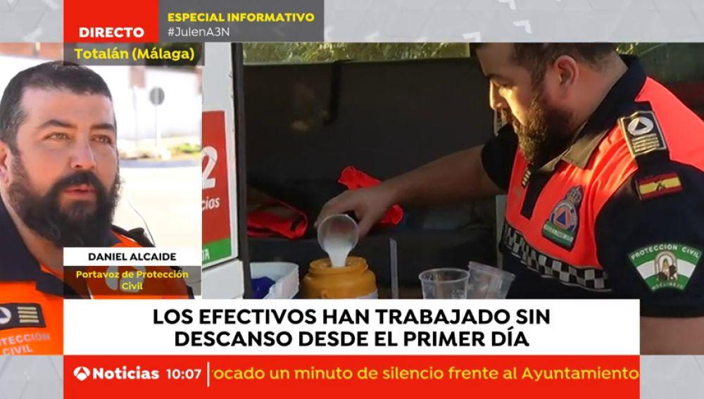 Voluntarios de toda España se ofrecieron para participar en el rescate