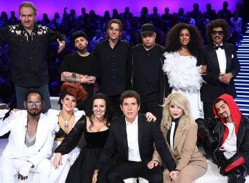 Los concursantes de 'Tu cara me suena' en la decimotercera gala