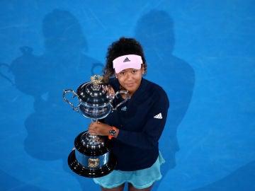 Naomi Osaka, con el Open de Australia