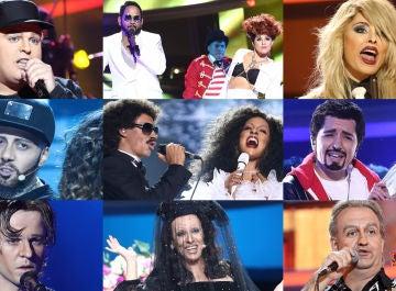 Ranking de la decimotercera gala de 'Tu cara me suena'