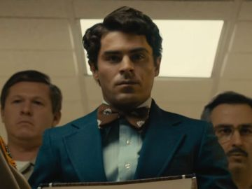 Zac Efron como Ted Bundy en 'Extremely wicked, sockingly evil and vile'