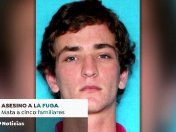 Un joven mata a cinco familiares y se da a la fuga en Louisiana