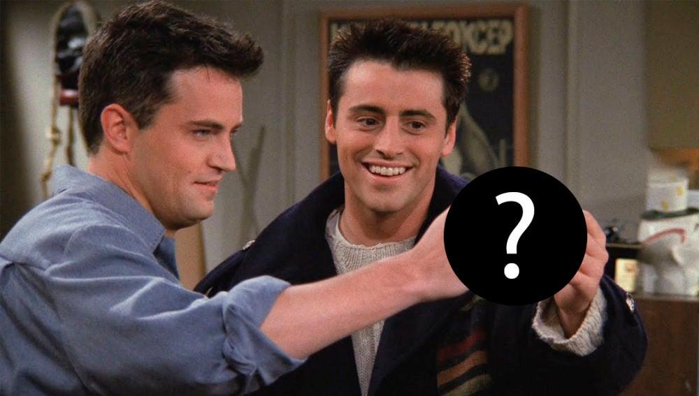 Matt LeBlanc y Matthew Perry como Joey y Chandler en 'Friends'