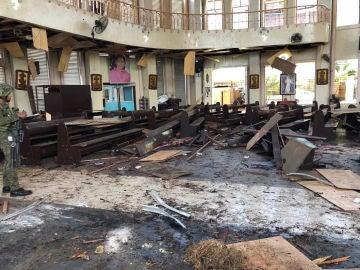 Explosión en Filipinas