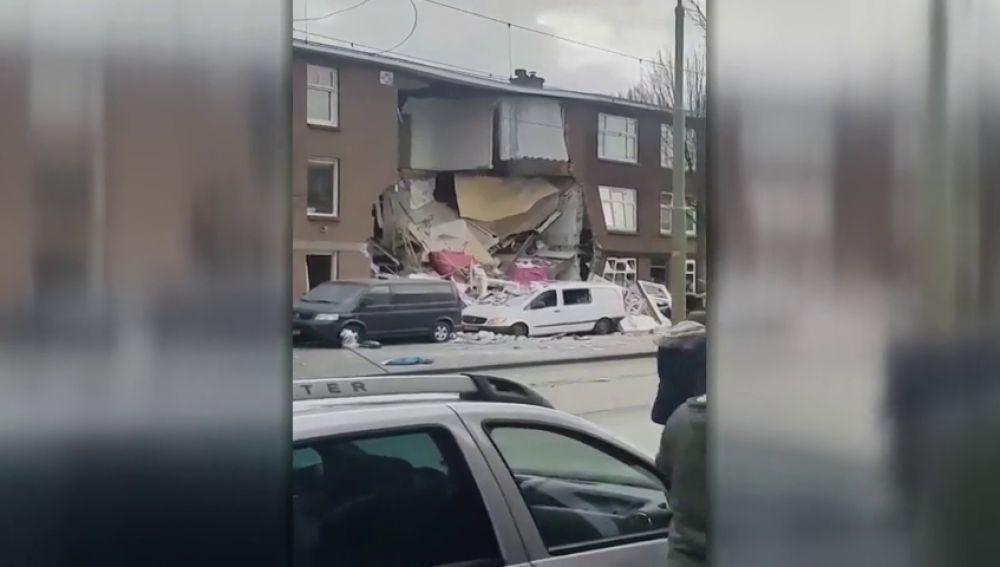 Al menos nueve heridos y varios desaparecidos tras la explosión de un edificio en La Haya