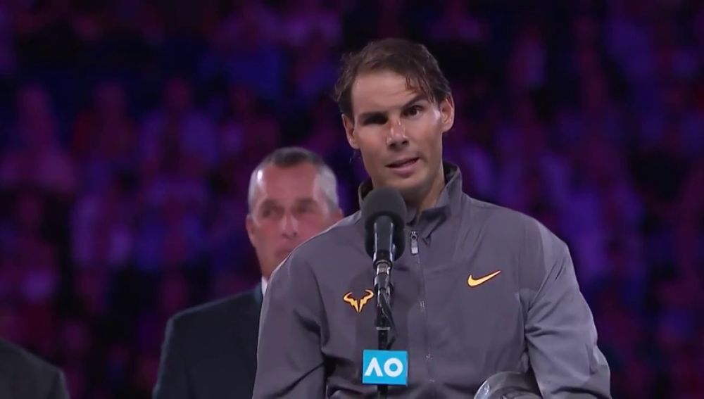 """El discurso viral de Nadal tras caer en Australia: """"Solo puede deciros una cosa: voy a seguir luchando para ser un mejor jugador"""""""