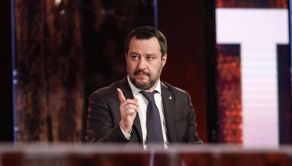 Salvini en una imagen de archivo