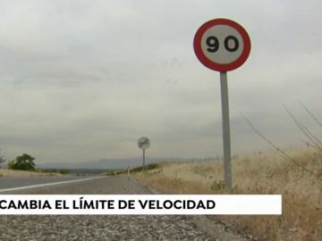 Señal de 90 km/h