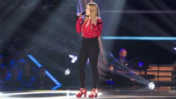 Vídeo: Lorena Santos canta 'No me doy por vencido' en las 'Audiciones a ciegas'