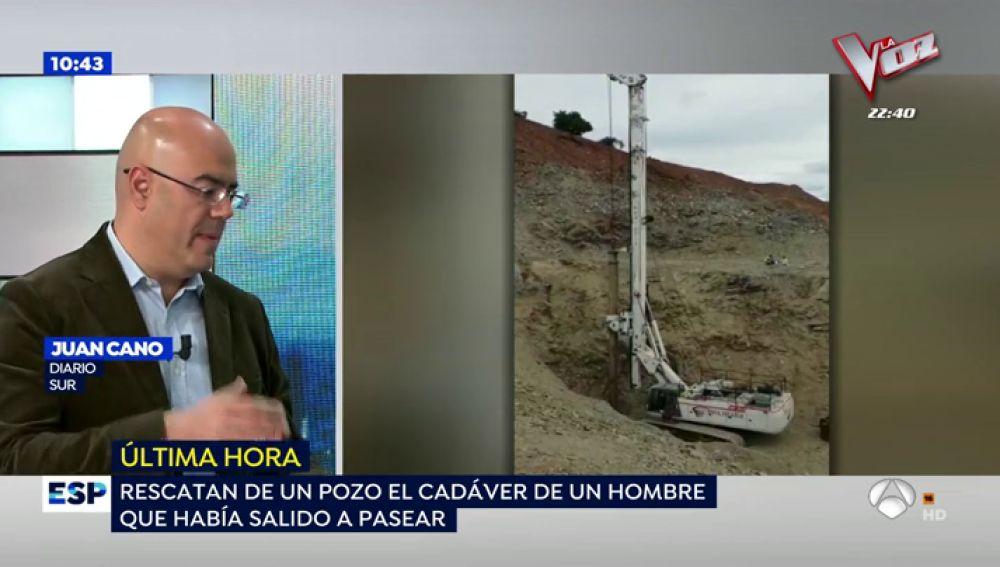 Localizan el cadáver de un varón que cayó a un pozo en Málaga mientras paseaba el perro
