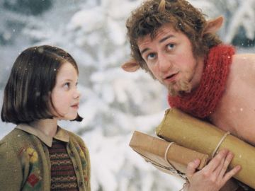 James McAvoy en 'Las Crónicas de Narnia'