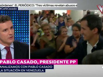 """Pablo Casado: """"Europa no puede estar impasible ante Juan Guaidó y hay que darles donde les duele"""""""