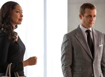 Jessica Pearson y Harvey Specter