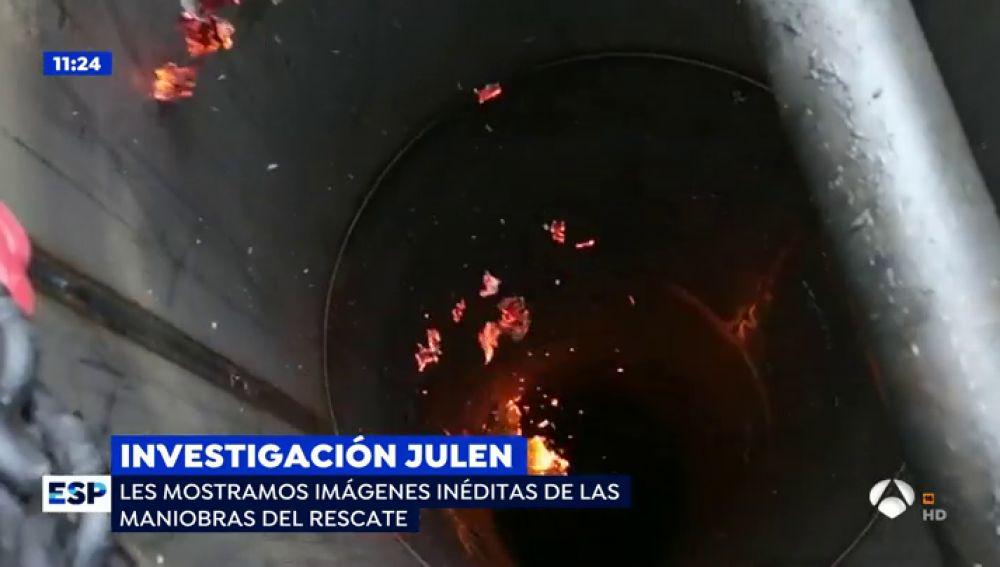 """Sale a la luz la imagen del rescate de Julen con la que el operativo de búsqueda """"sigue teniendo pesadillas"""""""