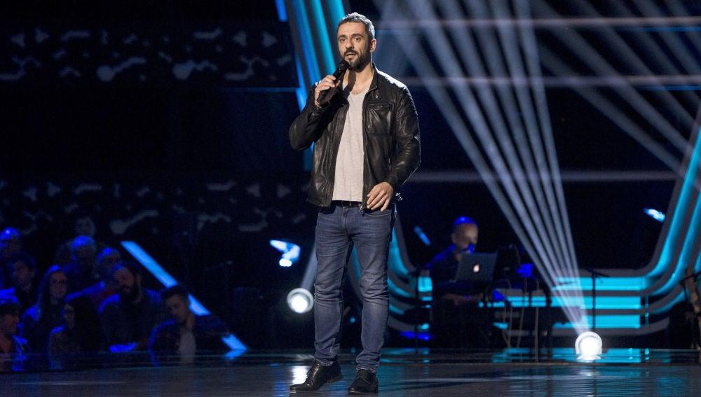 Sam Darris canta 'You'll be in my hearth' en las 'Audiciones a ciegas' de 'La Voz'