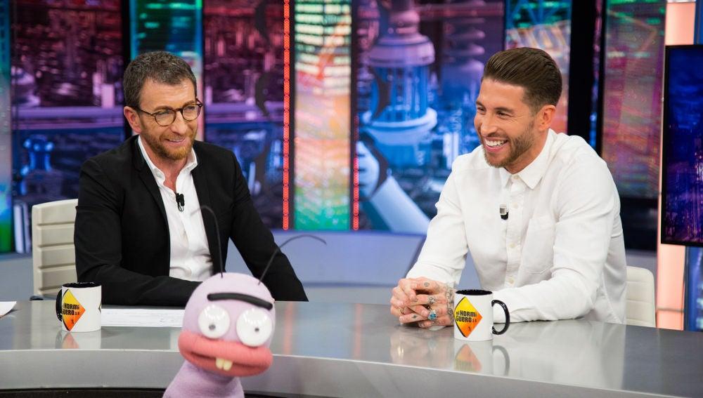 Sergio Ramos desvela qué calzoncillos utiliza en el Real Madrid en una comprometida sección con Trancas y Barrancas