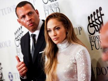 Jennifer Lopez y novio Álex Rodríguez