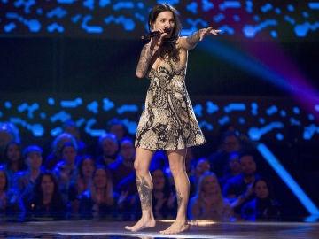 Giosy Moltino canta 'Satisfaction' en las 'Audiciones a ciegas' de 'La Voz'