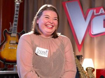 """Hannah Labotka: """"Me encantaría dedicarme a la música solo si gano 'La Voz'"""""""