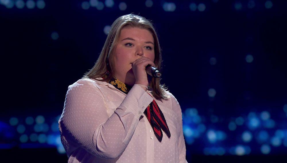Hannah Labotka canta 'Make your feel my love' en las 'Audiciones a ciegas' de 'La Voz'