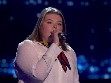 Hannah Labotka canta 'Make your feel my love' en las 'Audiciones a ciegas' de 'La Voz'