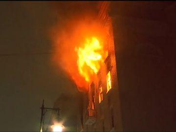 Mueren siete personas en un incendio en el centro de Moscú