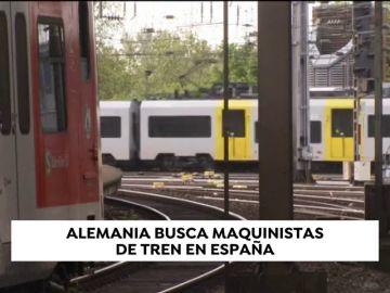Alemania busca maquinistas en España con una remuneración de 3.000 euros brutos